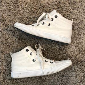 Blowfish High-top White Shoes
